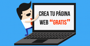 crear web gratis
