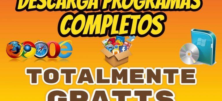 paginas para descargar programas gratis