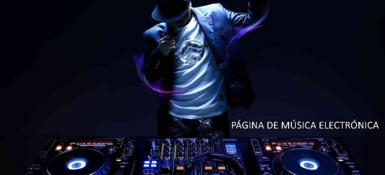 paginas de musica electronica en español