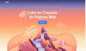 paginas hechas con wix gratis