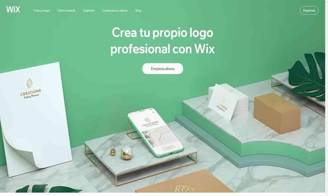 paginas para crear logos gratis