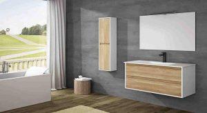 muebles de fondo reducido para baños